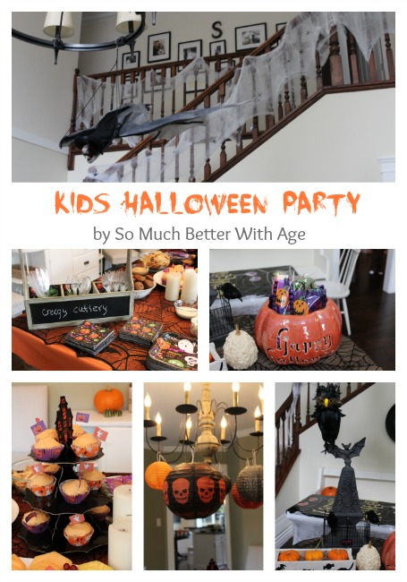 Kids Halloween Party | somuchbetterwithage.com