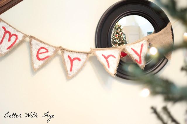 Merry Christmas banner www.somuchbetterwithage.com
