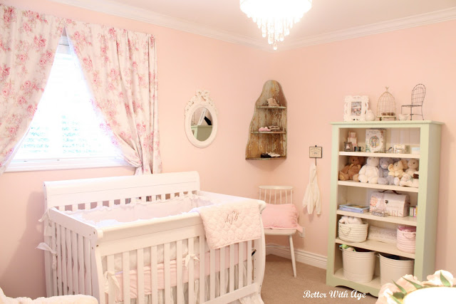Nursery room reveal - So Much Better With Age