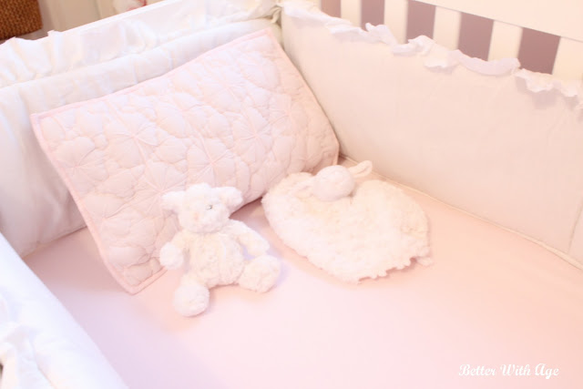 Nursery Room Reveal / stuffies in crib - So Much Better With Age
