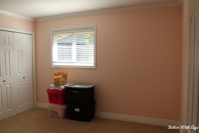 Nursery room reveal / plain room before decor - So Much Better With Age