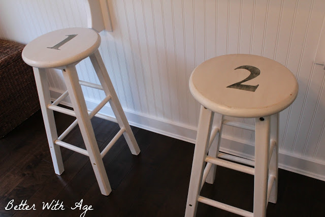 Two little stools - So Much Better With Age