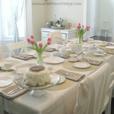 A Spring Table/Dining Room Adventures
