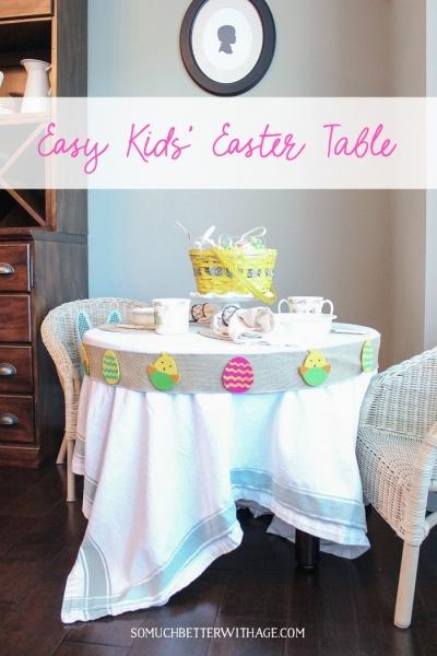 Easy Kids' Easter Table