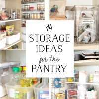 Pantry Reveal With Lots of Tips