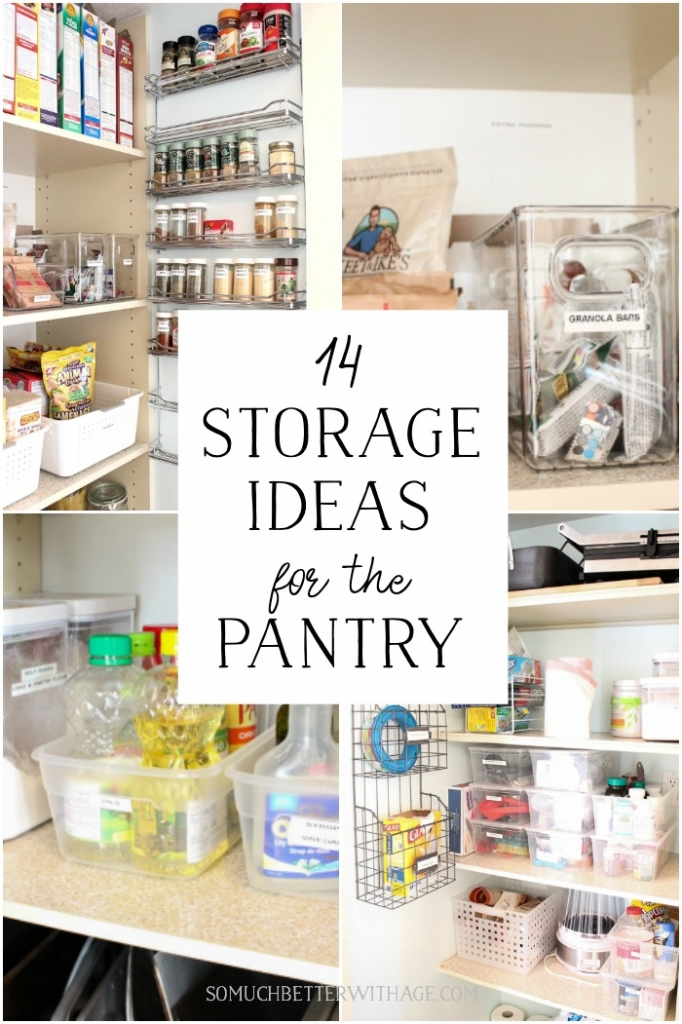 14 Storage Ideas for the Pantry.