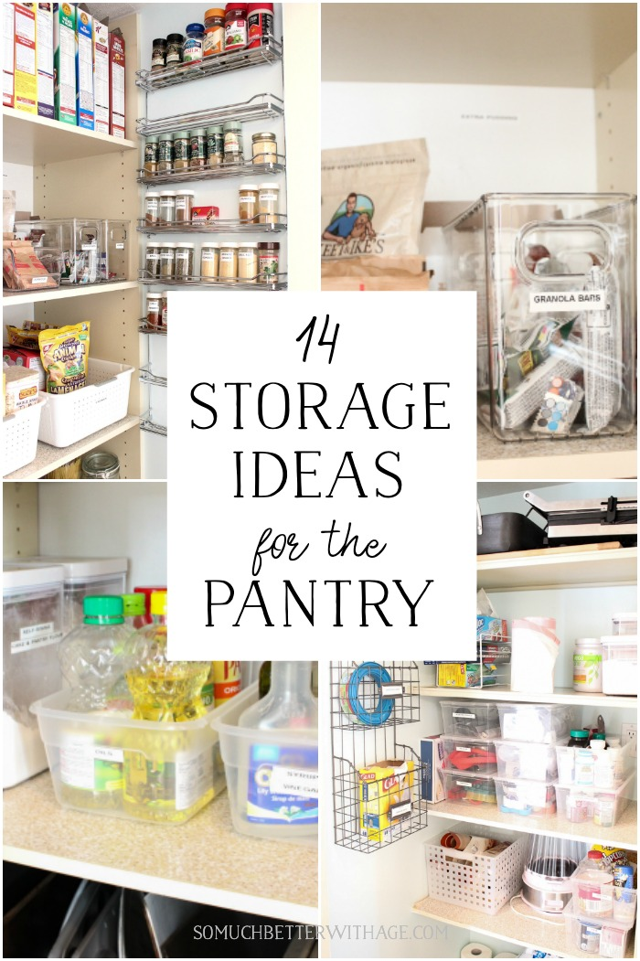 14 Storage Ideas for the Pantry - So Much Better With Age