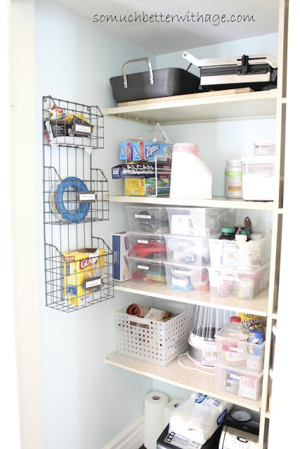 Pantry Reveal With Lots Of Tips / organized pantry - So Much Better With Age