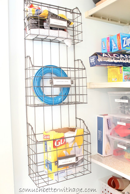 Pantry Reveal With Lots Of Tips / wire rack in pantry - So Much Better With Age