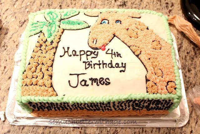 Giraffe cake www.somuchbetterwithage.com