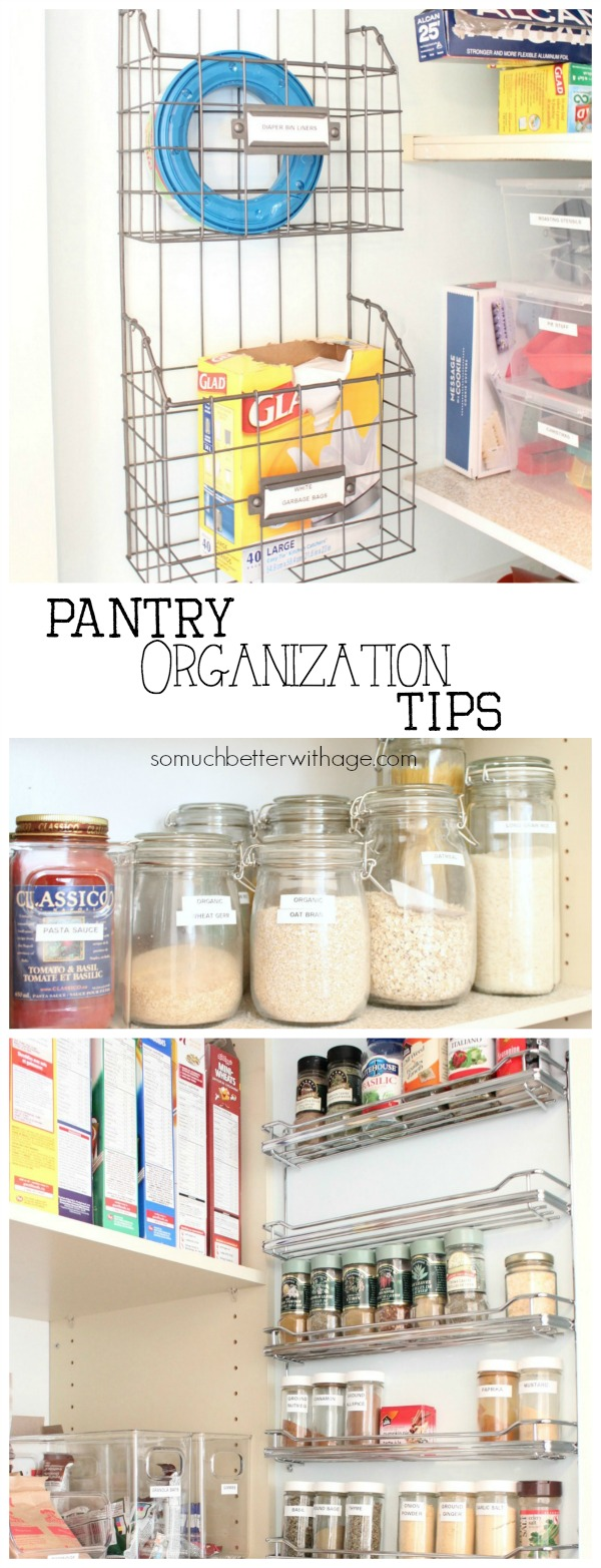 Pantry Reveal With Lots Of Tips / inside of the pantry - So Much Better With Age