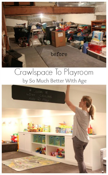 Playroom details - So Much Better With Age