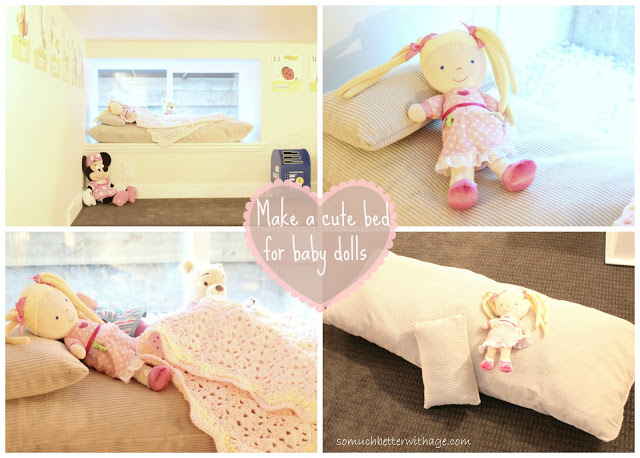 Playroom details / Baby doll bed - So Much Better With Age