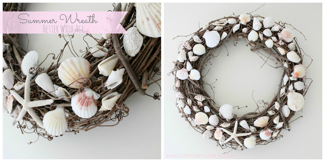 Summer wreath - So Much Better With Age