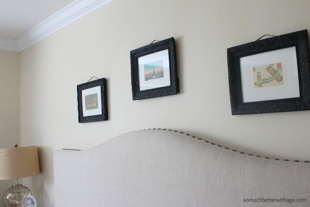 Frame art without matte / pictures hanging in bedroom - So Much Better With Age