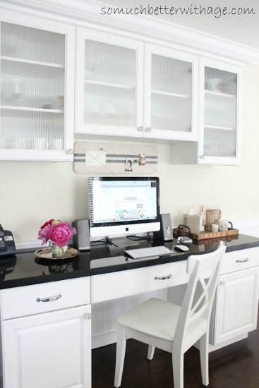 Kitchen office www.somuchbetterwithage.com