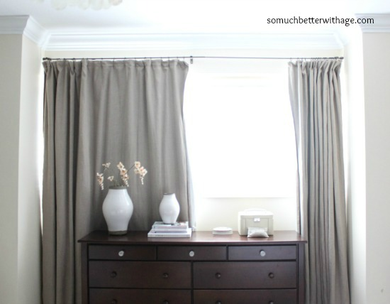 Curtains Ideas curtain liner blackout : How To Make Curtains With Blackout Lining | So Much Better With Age