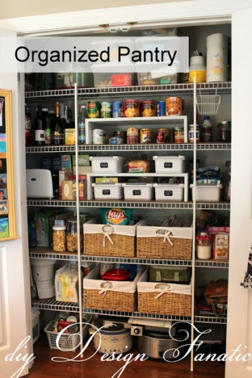 15 Pretty Pantry Projects / organized pantry - So Much Better With Age