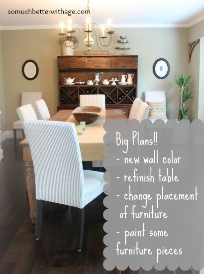 Dining Room Plans  www.somuchbetterwithage.com