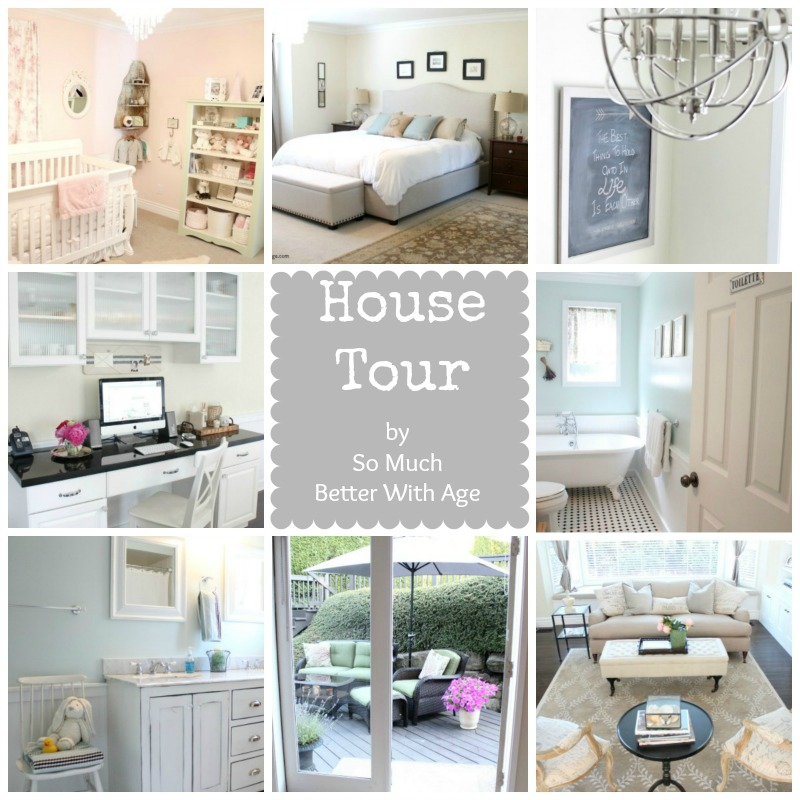 House Tour  www.somuchbetterwithage.com