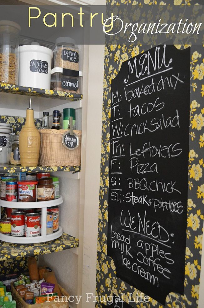 15 Pretty Pantry Projects / Fancy Frugal Life pantry - So Much Better With Age