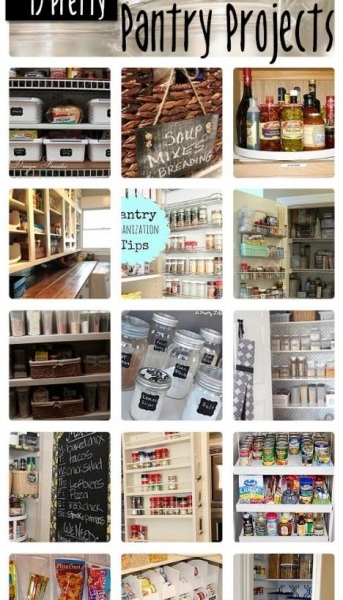 15 Pretty Pantry Projects