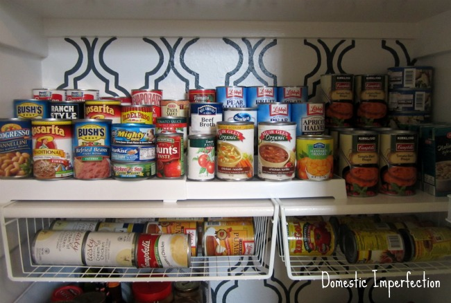 15 Pretty Pantry Projects / Domestic Imperfection pantry - So Much Better With Age