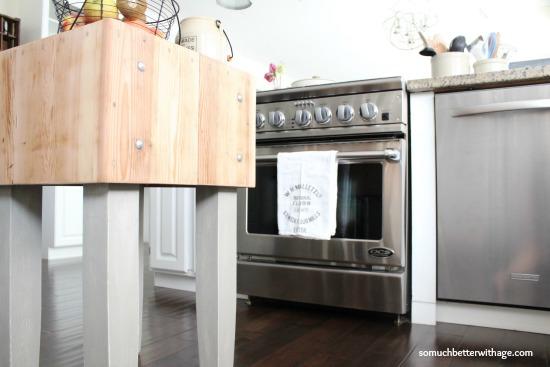 Kitchen tour www.somuchbetterwithage.com