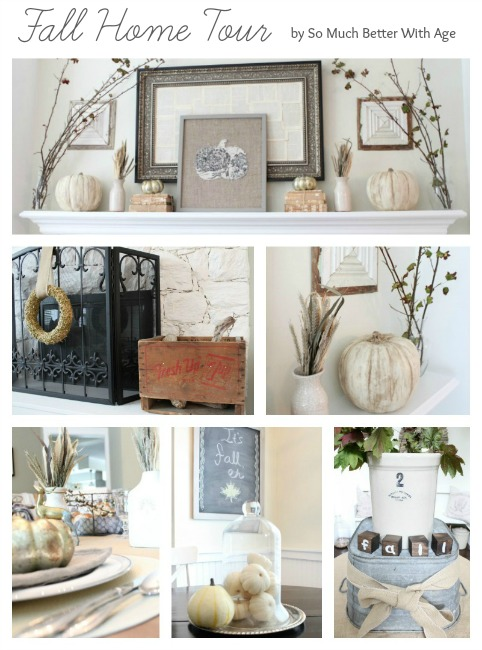 Fall home tour www.somuchbetterwithage.com