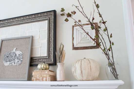 Vintage Chalk Paint Pumpkins/fall decorating - So Much Better With Age