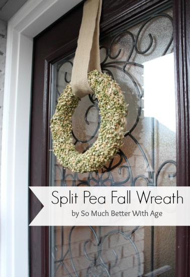 Split Pea Wreath - So Much Better With Age