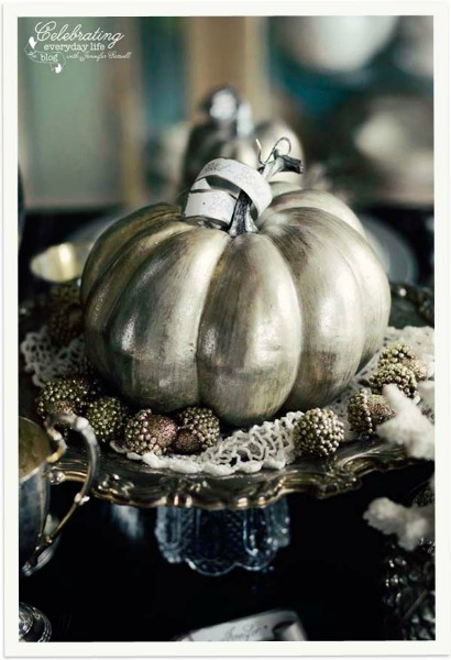 Vintage Halloween Decor / Celebrating Everyday Life - So Much Better With Age