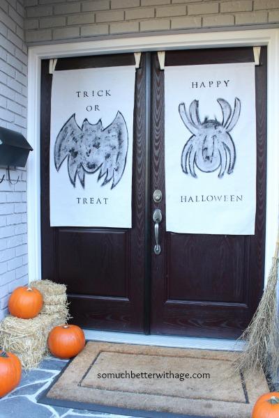 Door banners www.somuchbetterwithage.com