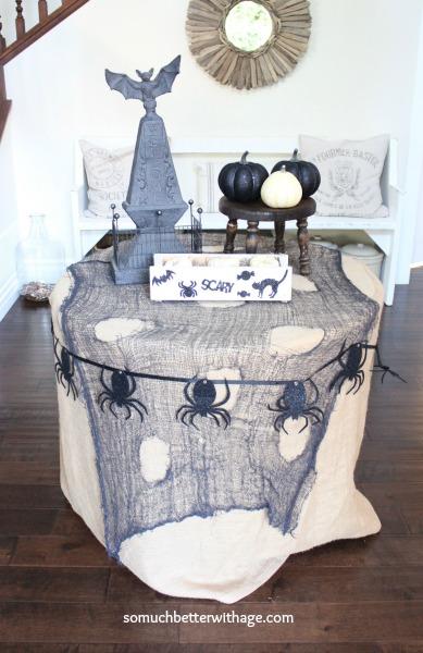 Halloween decor www.somuchbetterwithage.com