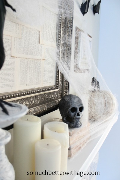 Easy last minute Halloween craft skulls - So Much Better With Age