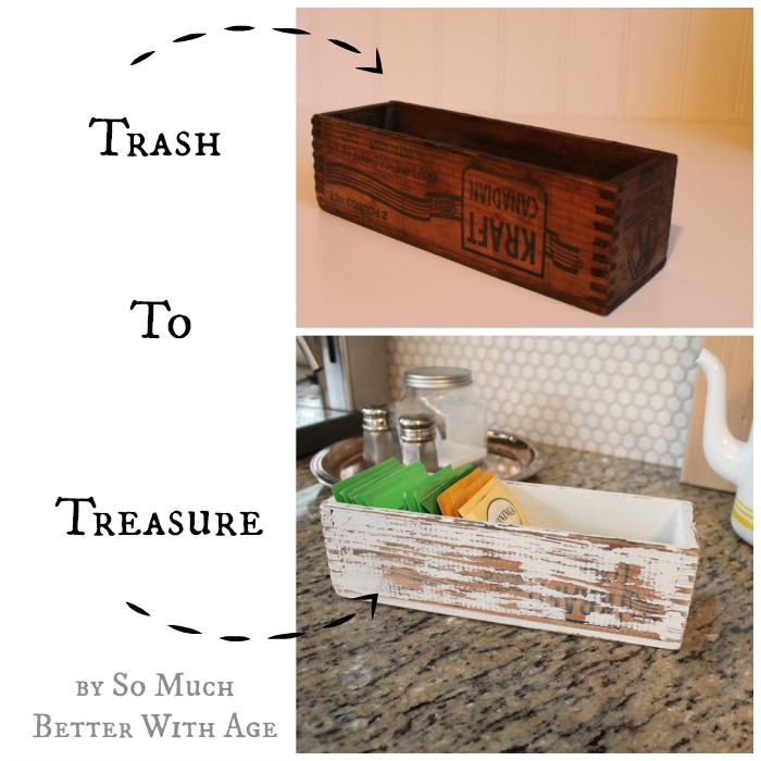 Trash to treasure www.somuchbetterwithage.com