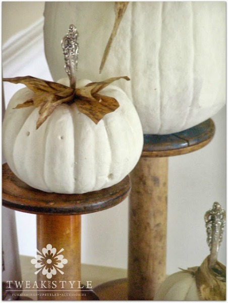 Vintage Halloween Decor / Tweak and Style - So Much Better With Age