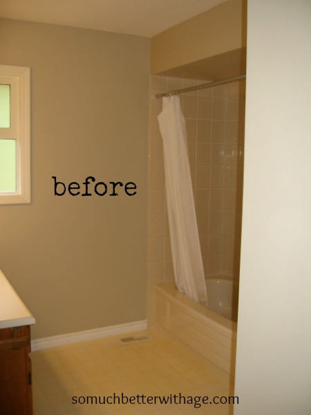 Before bathroom www.somuchbetterwithage.com