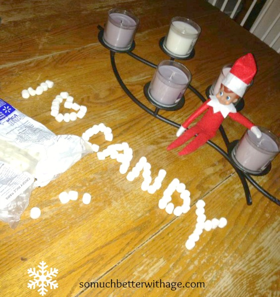 Creative Ideas for The Elf on the Shelf   somuchbetterwithage.com