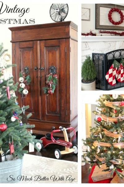 Christmas Mantel and Tree Tour, An Evening Tour