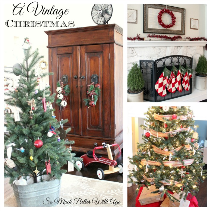 A Vintage Christmas tour | somuchbetterwithage.com
