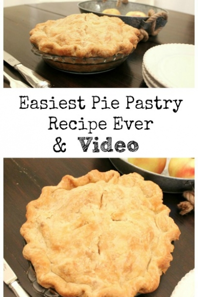 Easiest Pie Pastry Recipe Ever