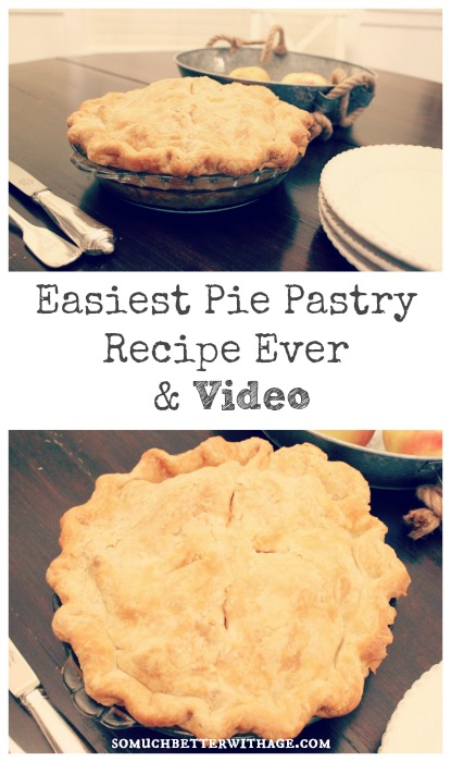 Easiest pie pastry and recipe ever