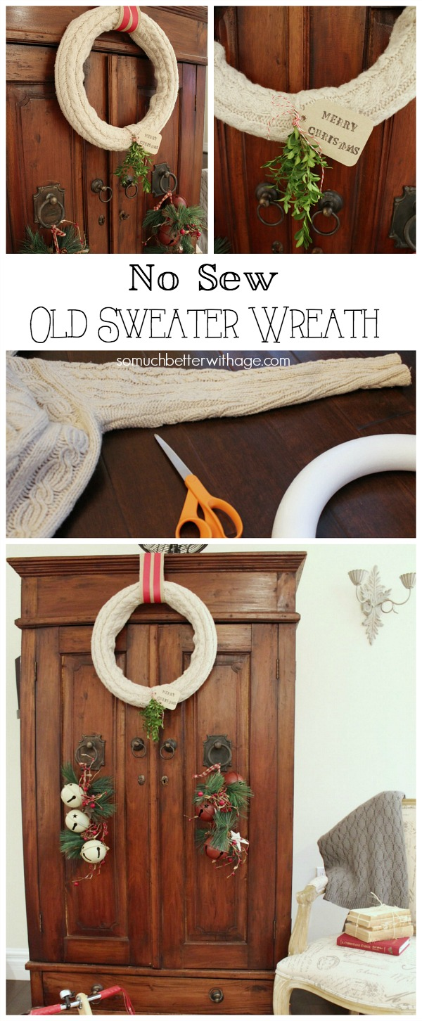 No sew old sweater | somuchbetterwithage.com