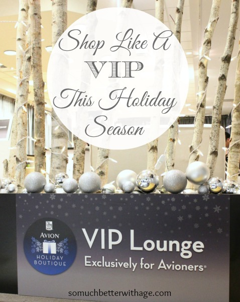 Shop like a VIP this holiday season www.somuchbetterwithage.com