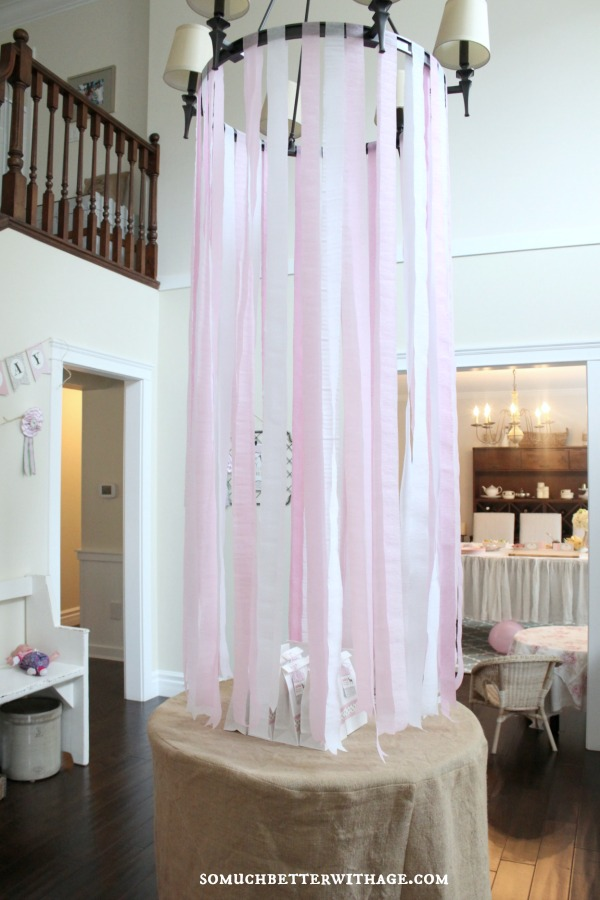 Vintage equestrian birthday party / party streamers - So Much Better With Age