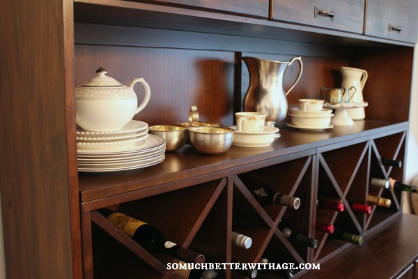 Why bother having a china collection & how to store it | somuchbetterwithage.com