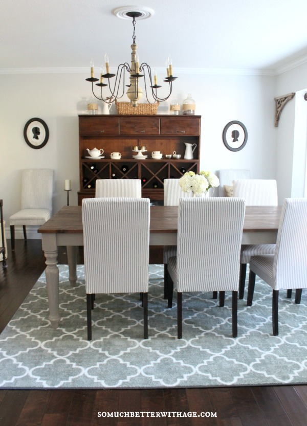 new dining room makeover somuchbetterwithage.com