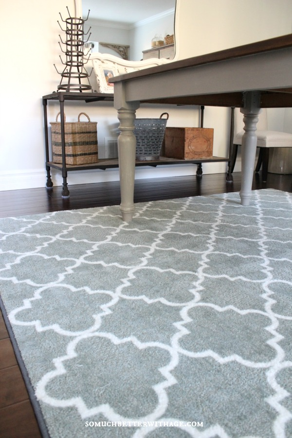My New Dining Room Rug {Plus Mohawk Rug Giveaway!} | So Much ...