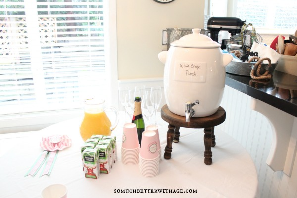 Vintage equestrian birthday party / beverage station - So Much Better With Age